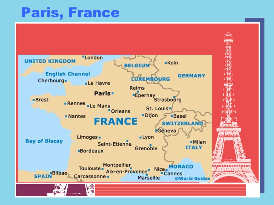 Paris Capital city of France Divided into arrondissements –20 in total –Named by number –Each is unique