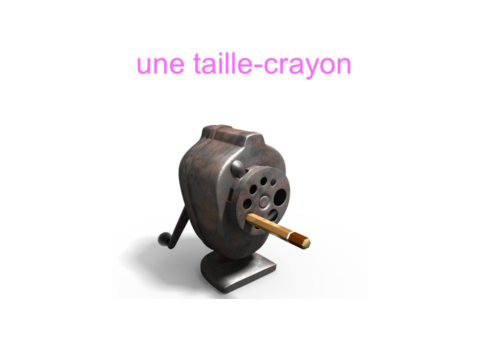 une taille-crayon