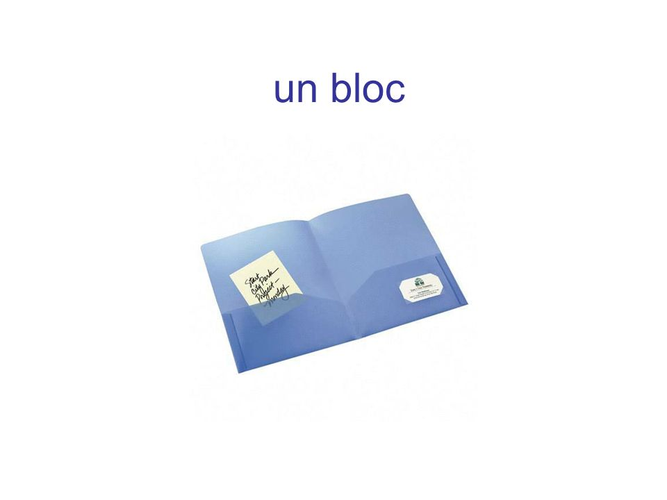 un bloc