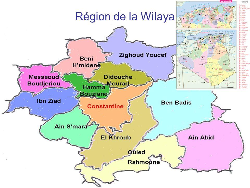 Région de la Wilaya