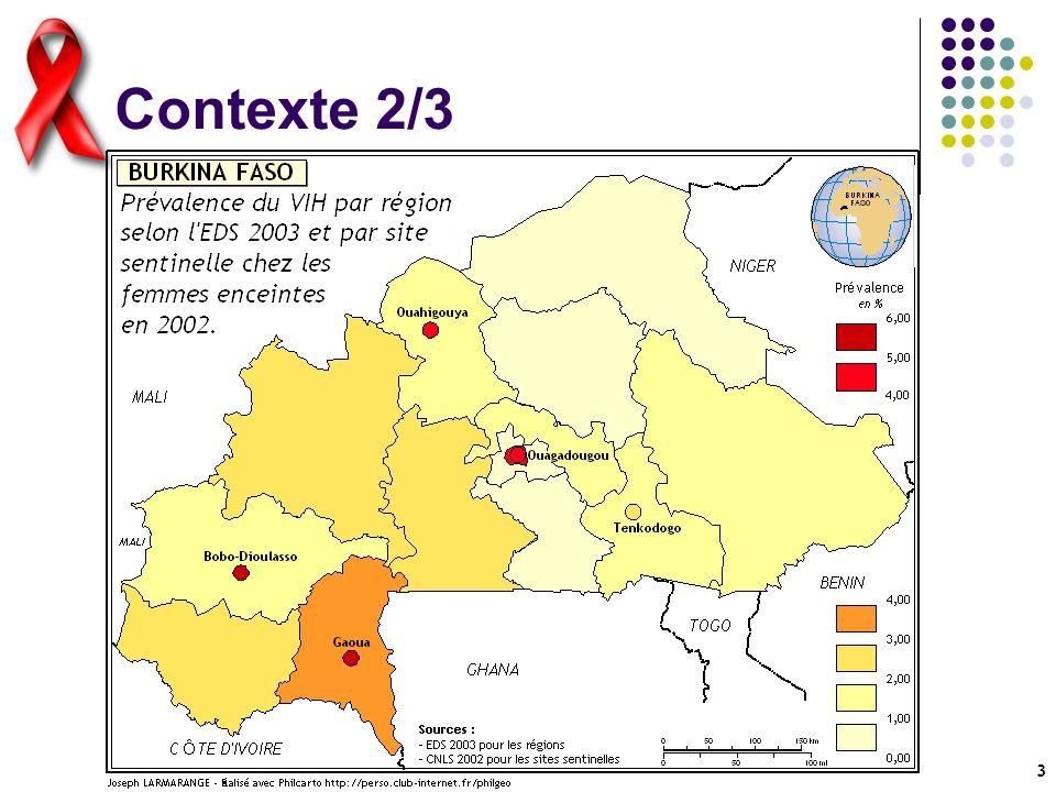 4 Contexte 3/4 Au Sénégal : EDS 2004 en cours avec module de test VIH Faible nombre de sites sentinelles La stabilité de la prévalence nationale reste à montrer