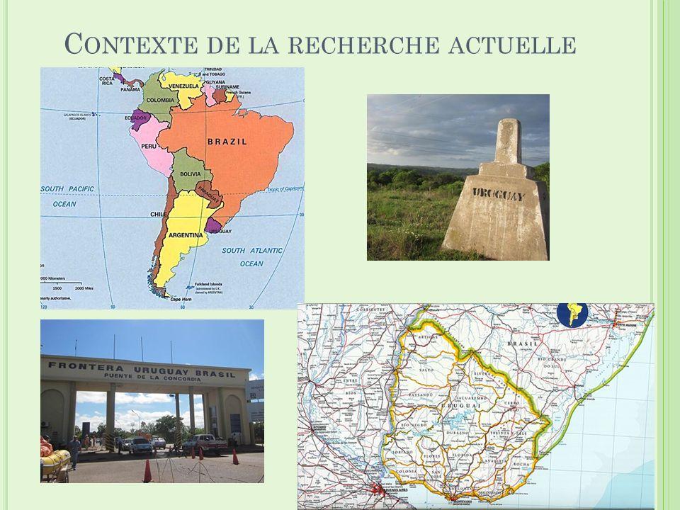 C ONTEXTE DE LA RECHERCHE ACTUELLE