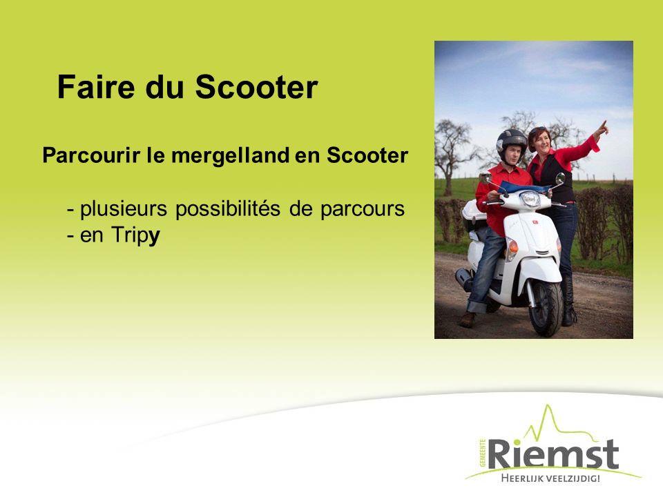 Faire du Scooter Parcourir le mergelland en Scooter - plusieurs possibilités de parcours - en Tripy