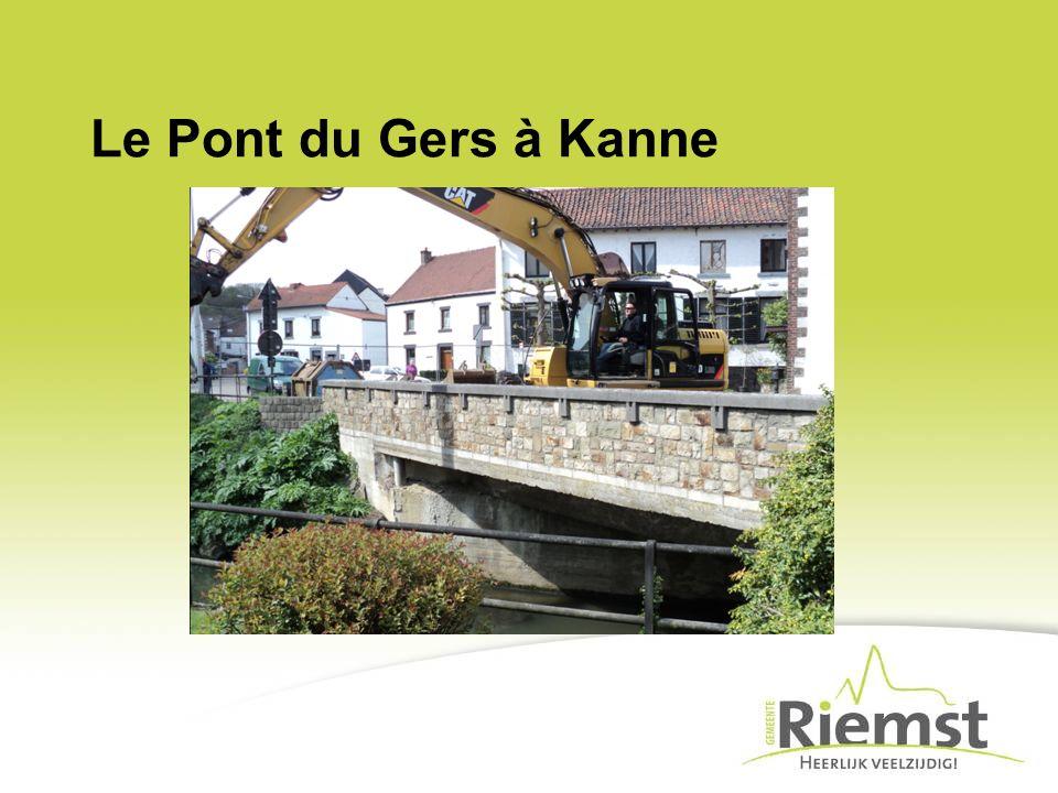 Le Pont du Gers à Kanne