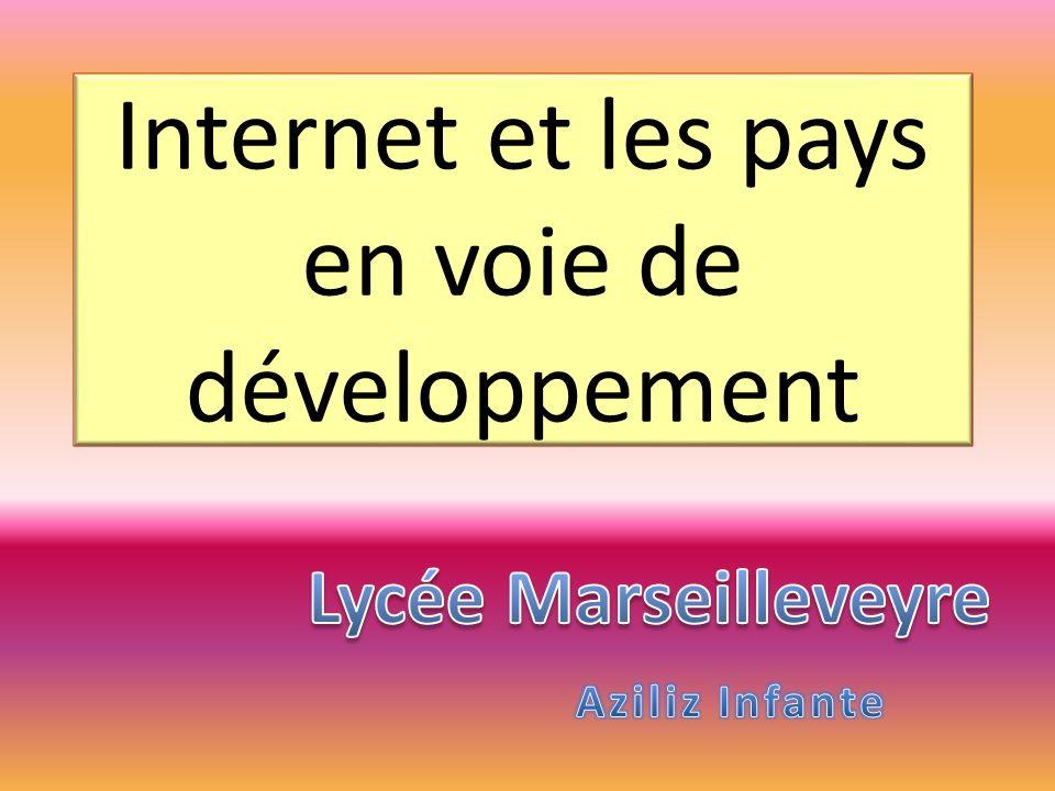 Internet et les pays en voie de développement