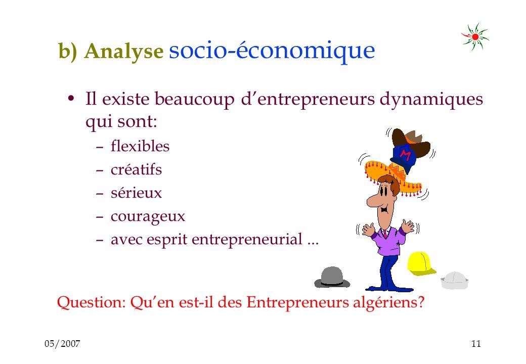 05/200710 La chambre et le projet narrivent pas à intéresser les entrepreneurs. Pourquoi? Soit la chambre / le projet est bon (a de bonnes intentions)