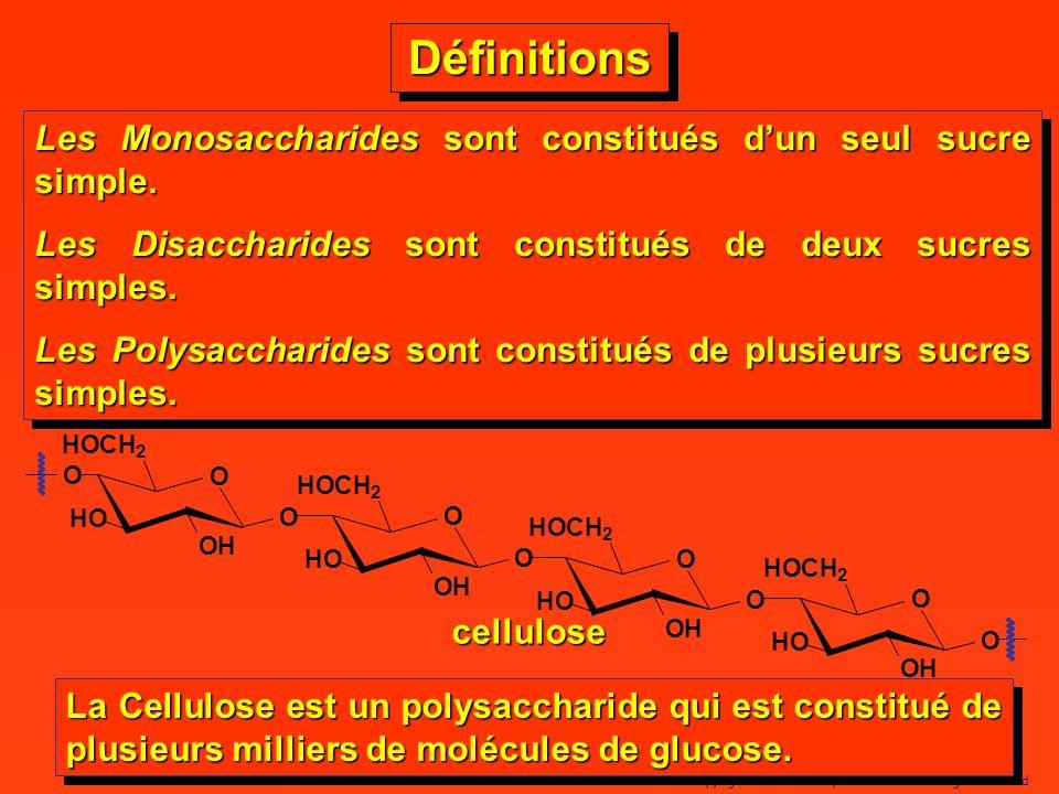 7 Copyright© 2005 Dominique BLONDEAU. All rights reserved DéfinitionsDéfinitions Les Monosaccharides sont constitués dun seul sucre simple. Les Disacc