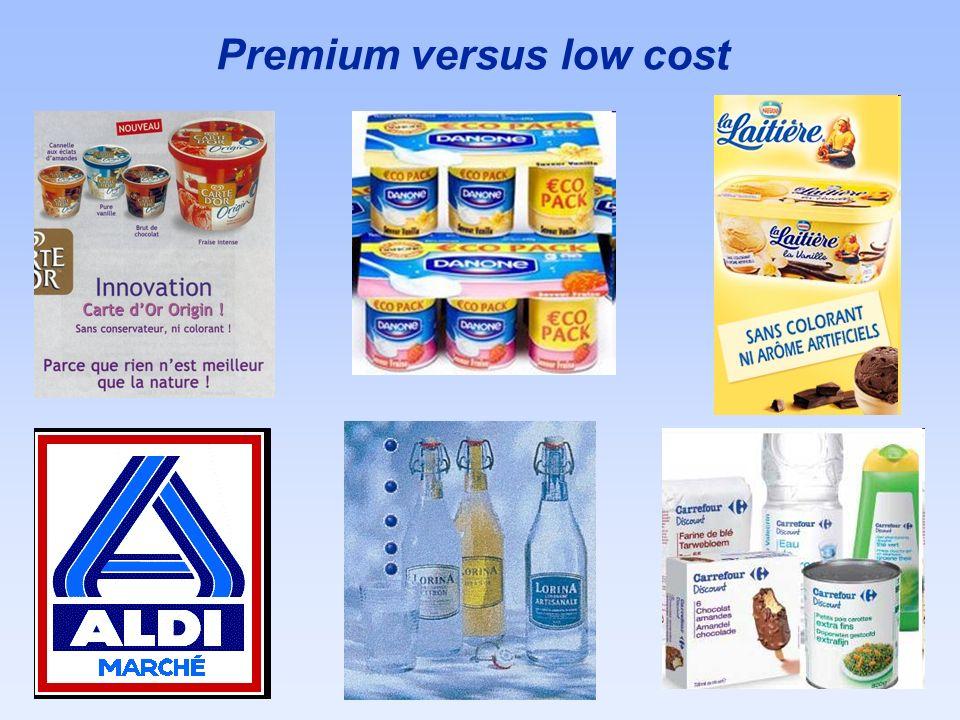 Premium versus low cost