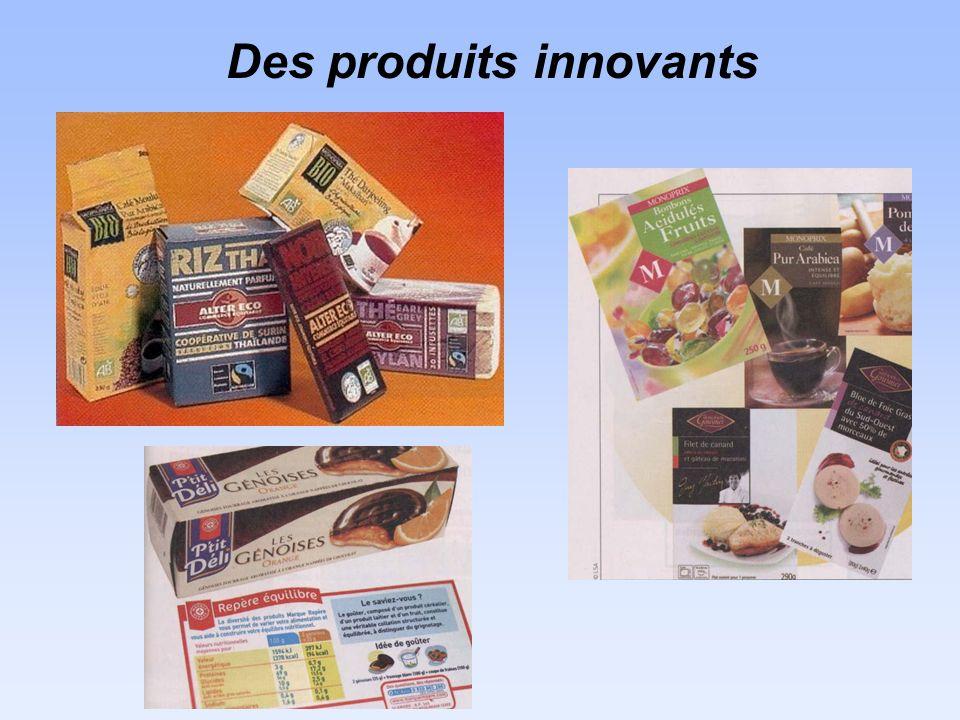Des produits innovants