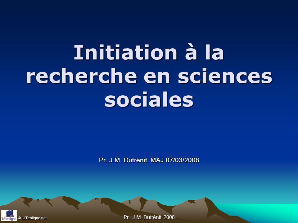 © IUTenligne.net Pr. J-M. Dutrénit 2008 School Readiness Skills