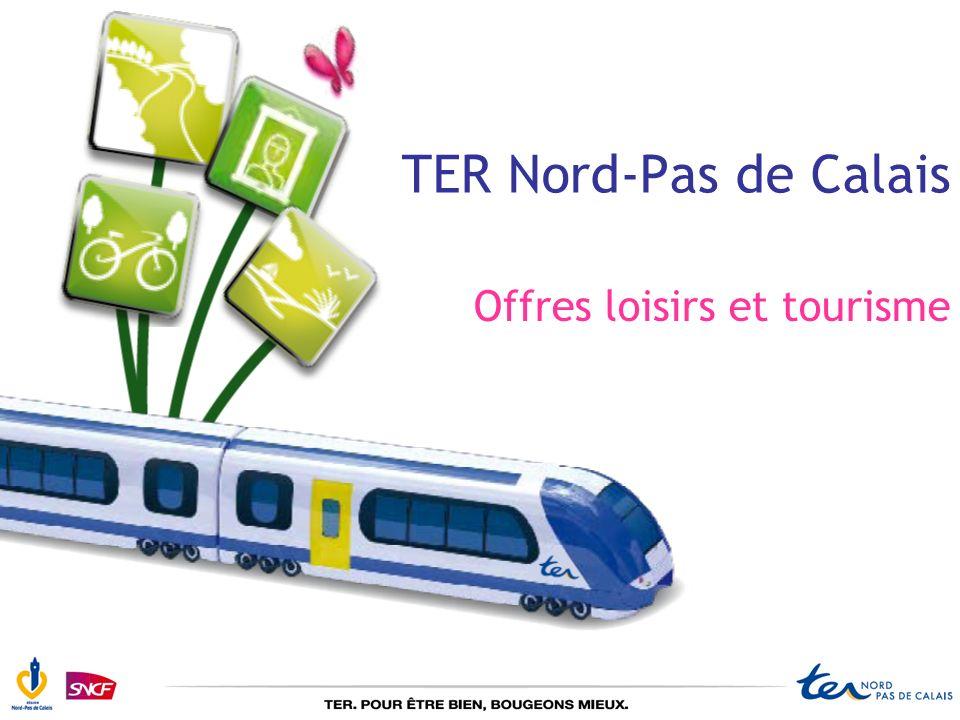 Sommaire Le TER, acteur du tourisme et des loisirs Le réseau TER Nord-Pas de Calais Le TER développe sa gamme loisirs Le TER facilite la mise en œuvre de lagenda 21 Le TER, générateur de tourisme Le TER, partenaire dévènements Le TER, à votre disposition