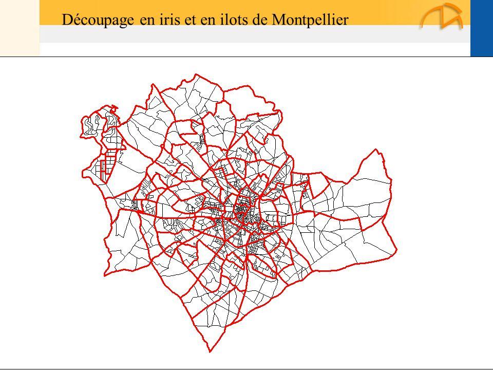 Page 9 La géolocalisation Elodie Fille - Roger Rabier11/06/2009 Découpage en iris et en ilots de Montpellier
