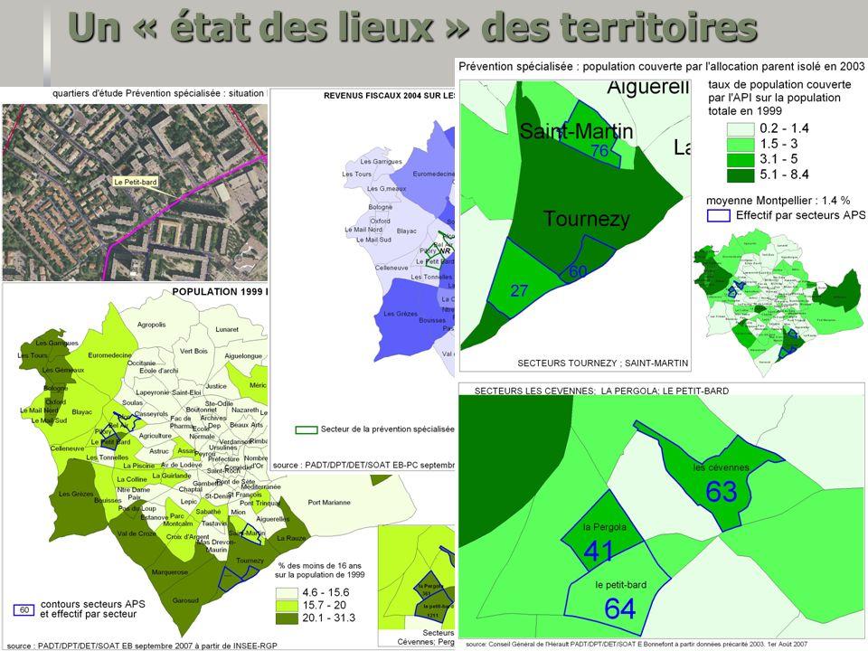 C entre de R essources et E tudes T erritoriales, novembre 2009 8 Un « état des lieux » des territoires
