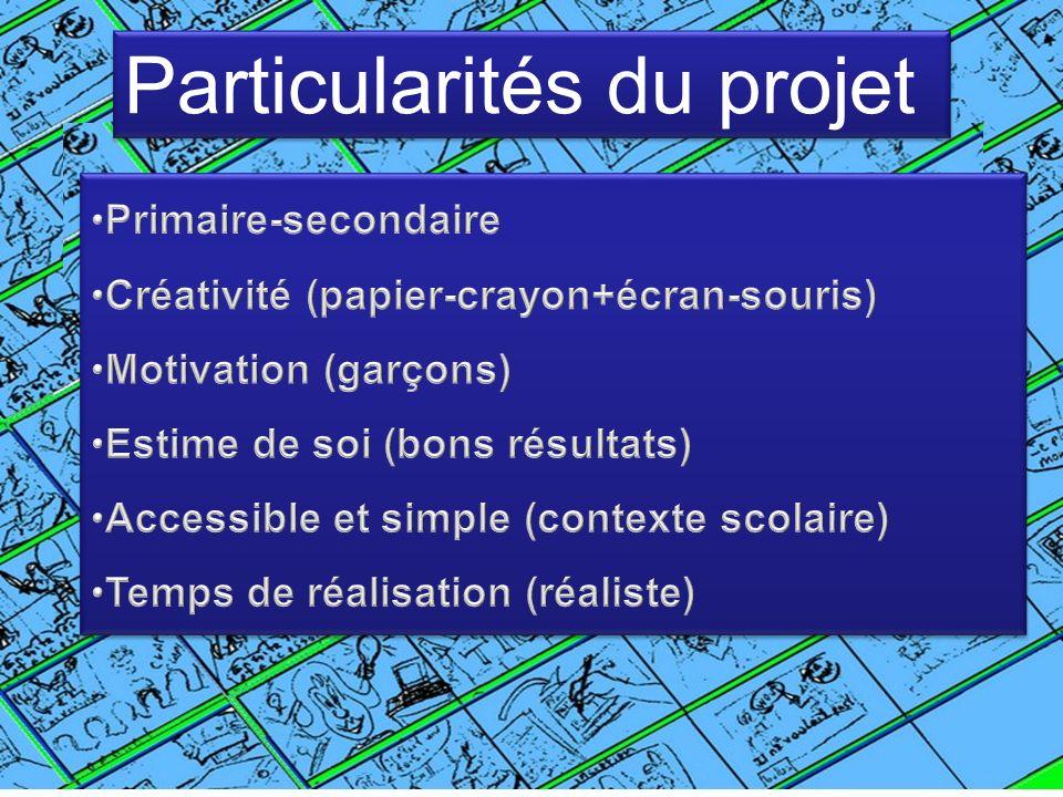 Particularités du projet