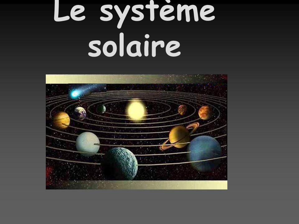 Les planètes Dans notre petit coin dunivers, le Soleil est au centre dun système de 8 planètes: cest le système solaire.