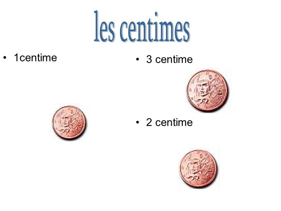 Dans chaque pays de lunion européenne,il y a de différentes pièces d. Je vais maintenant vous montré les pièces actuelle de la France dans les pages s