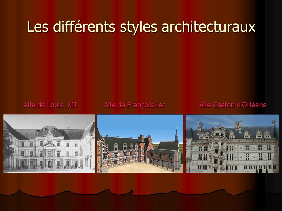 Blois a été construit par Louis XII, François 1er et Gaston dOrléans.