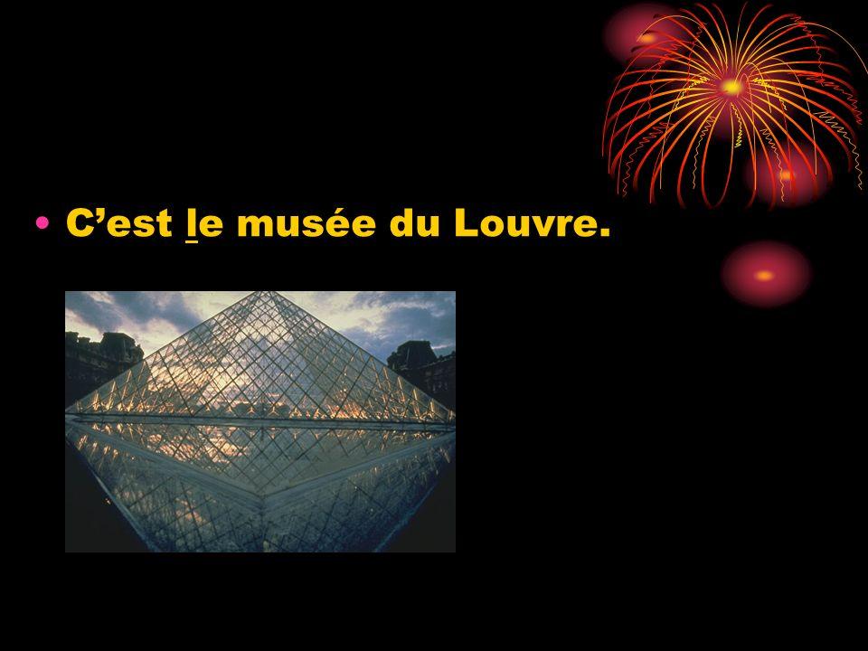 Cest le musée du Louvre.