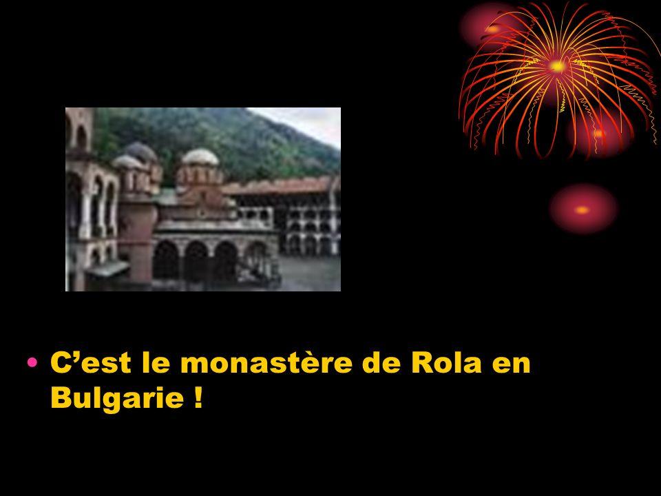Cest les Rhodopes de la Bulgarie !
