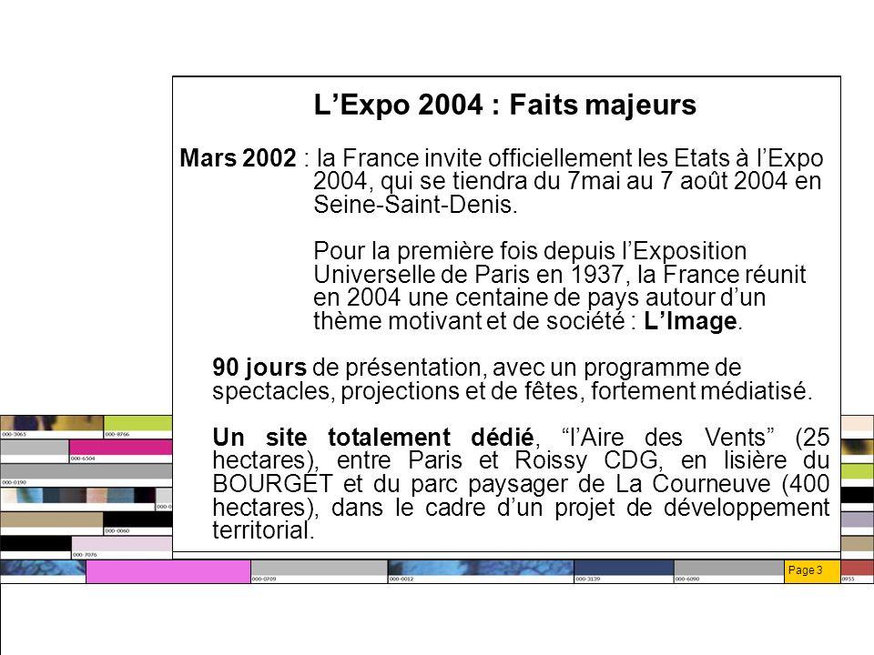 Page 24 Dispositif partenariat fournisseur officiel Associé au produit/service Droit d utiliser le titre Fournisseur Officiel de l Expo Visibilité sur site web Accès à la billetterie, aux prestations VIP, en quantité limitée Possibilité dexposer sa contribution produits sur les brochures dExpo 2004.