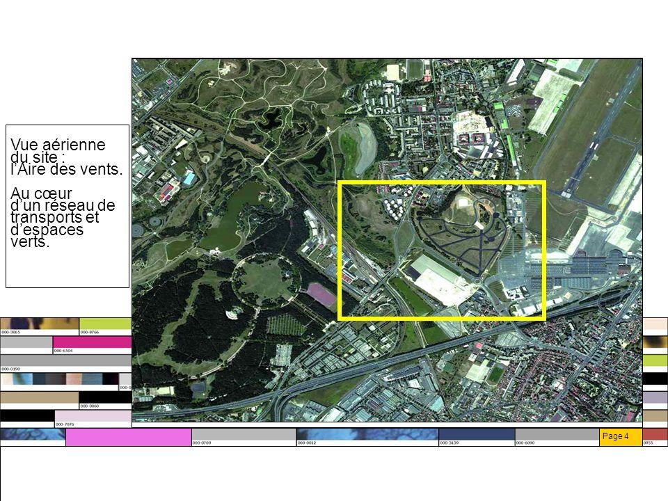 Page 5 En lisière du site, le parc de La Courneuve aptes à absorber les pics de fréquentation