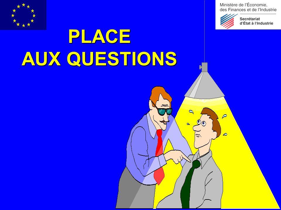 PLACE AUX QUESTIONS