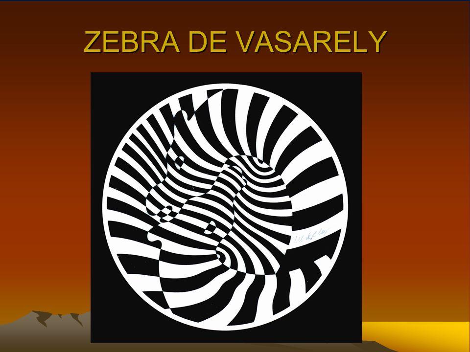 ZEBRA DE VASARELY