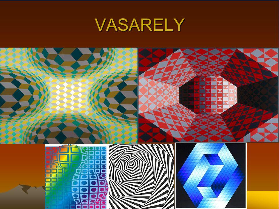 BIOGRAPHIE DE VASARELY Pendant les deux décennies suivantes, Vasarely développe son propre modèle d art abstrait géométrique, travaillant dans divers matériaux, mais employant un nombre minimal de formes et de couleurs.Pendant les deux décennies suivantes, Vasarely développe son propre modèle d art abstrait géométrique, travaillant dans divers matériaux, mais employant un nombre minimal de formes et de couleurs.