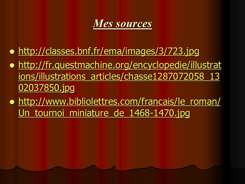 Mes sources http://classes.bnf.fr/ema/images/3/723.jpg http://classes.bnf.fr/ema/images/3/723.jpg http://classes.bnf.fr/ema/images/3/723.jpg http://fr