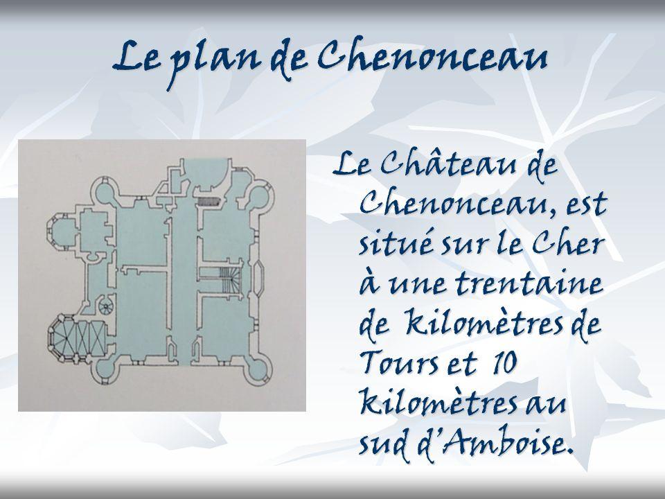 Les 6 dames Les 6 dames qui ont habité à Chenonceau se nomment : Katherine Briçonnet (la femme de Thomas Bohier), Diane de Poitiers, Catherine de Médicis, Louise de Lorraine, Madame Dupin et Madame Pelouze.