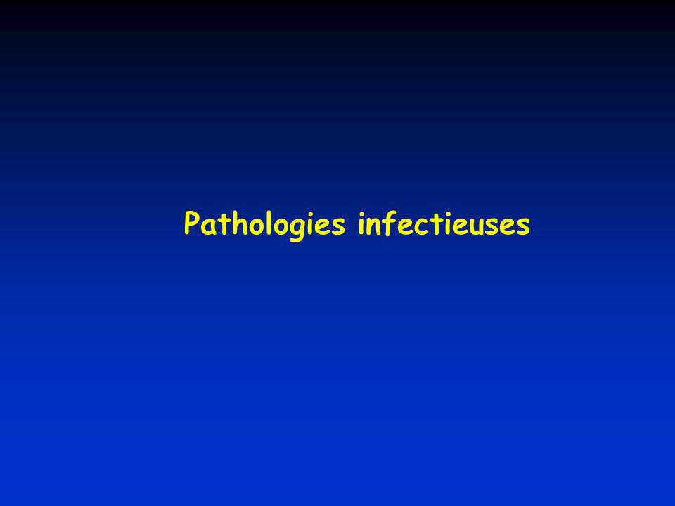 Pathologies infectieuses