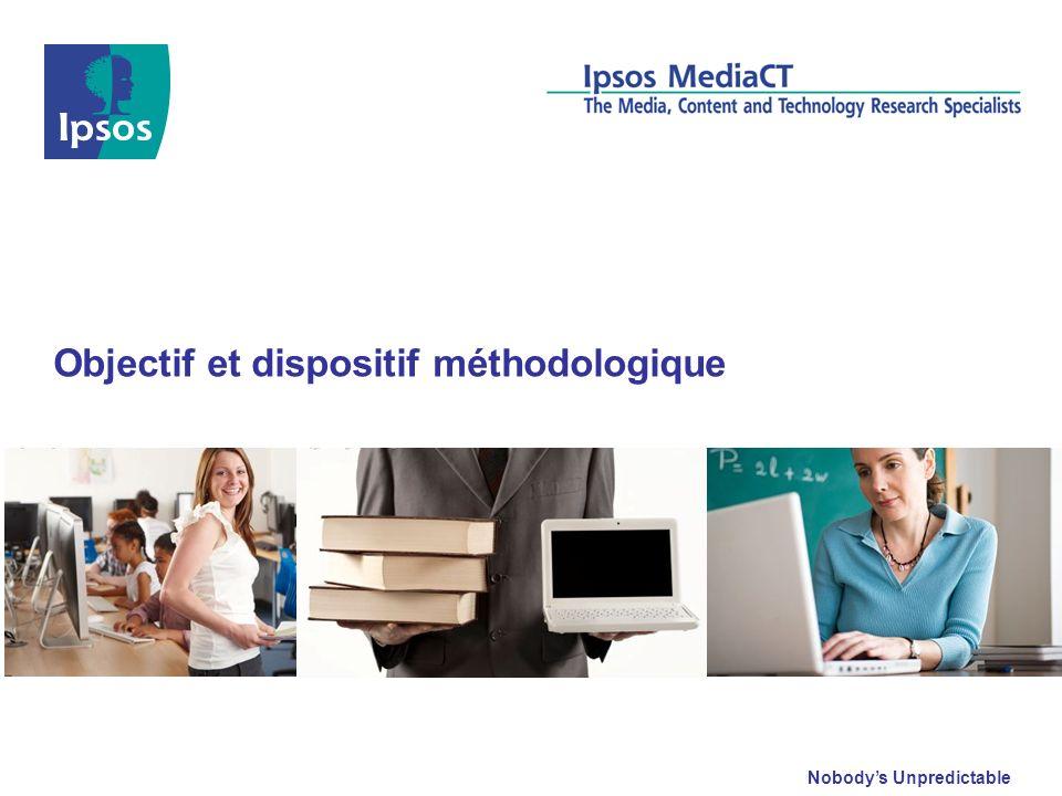 2011 Ipsos Etude sur les enseignants 4 Objectif de létude Cette étude porte sur les pratiques professionnelles des enseignants en collège et lycée.