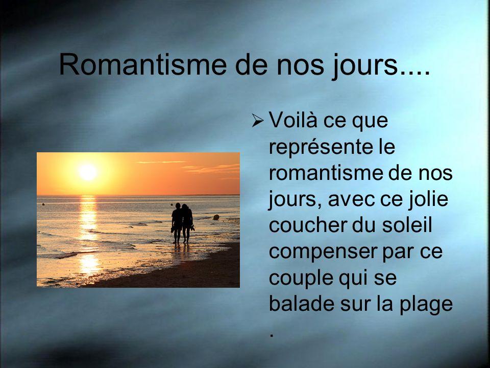Romantisme de nos jours.... Voilà ce que représente le romantisme de nos jours, avec ce jolie coucher du soleil compenser par ce couple qui se balade