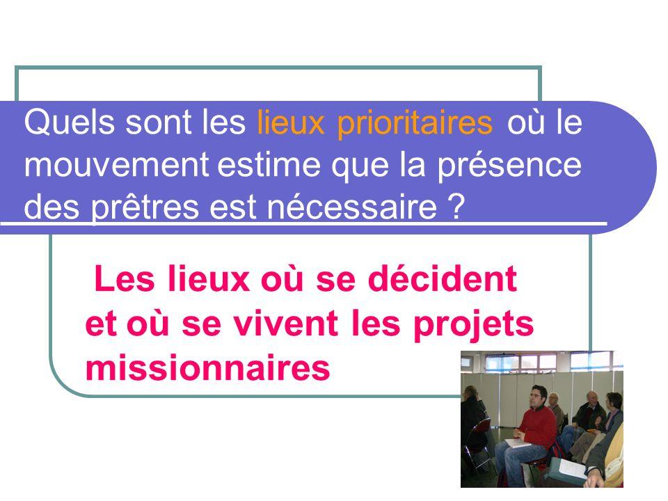 13 II Déplacements à vivre et appels pour le mouvement Le CS a un rôle important Il faut insister sur lenjeu dune réflexion en secteur sur la présence des prêtres.