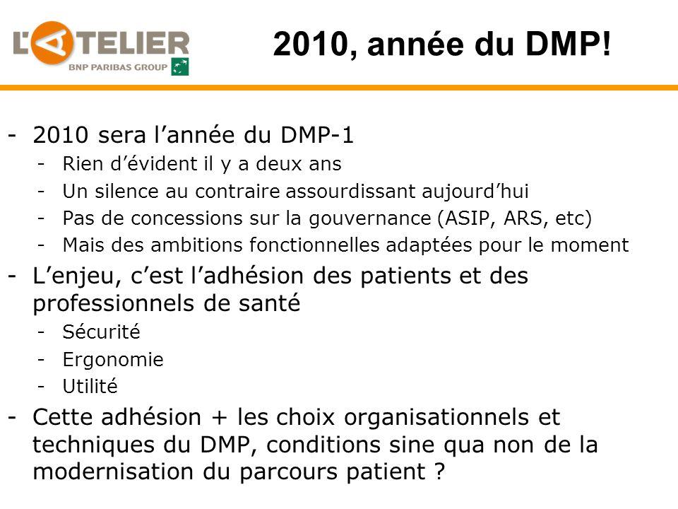 2010, année du DMP.