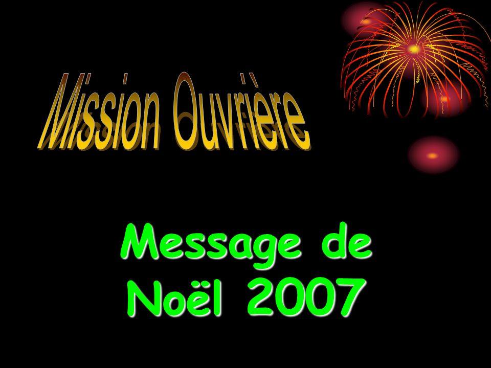 Message de Noël 2007