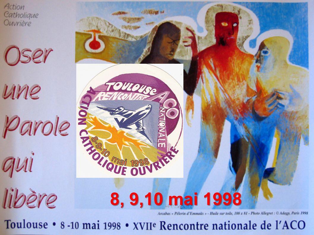 8, 9,10 mai 1998