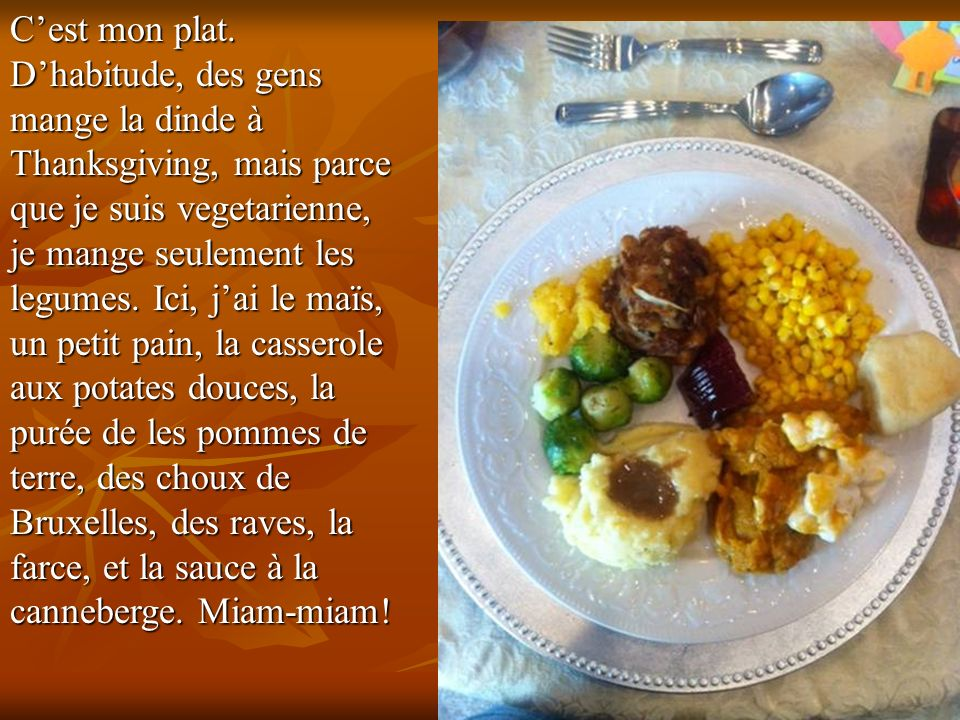 Joyeux Thanksgiving!!!