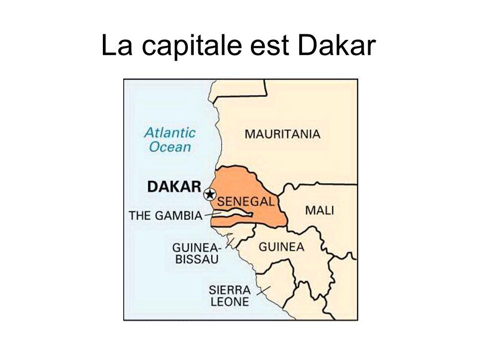 La capitale est Dakar