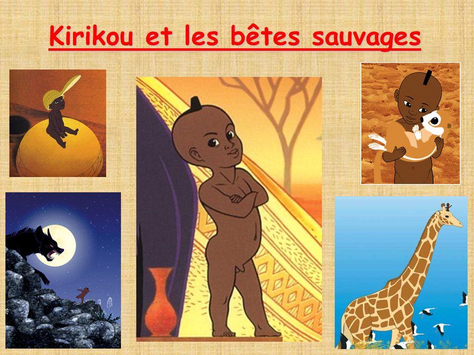 Il était une fois, il y avait un petit garçon africain Kirikou, il était très petit mais avait le coeur et la détermination d un adulte.