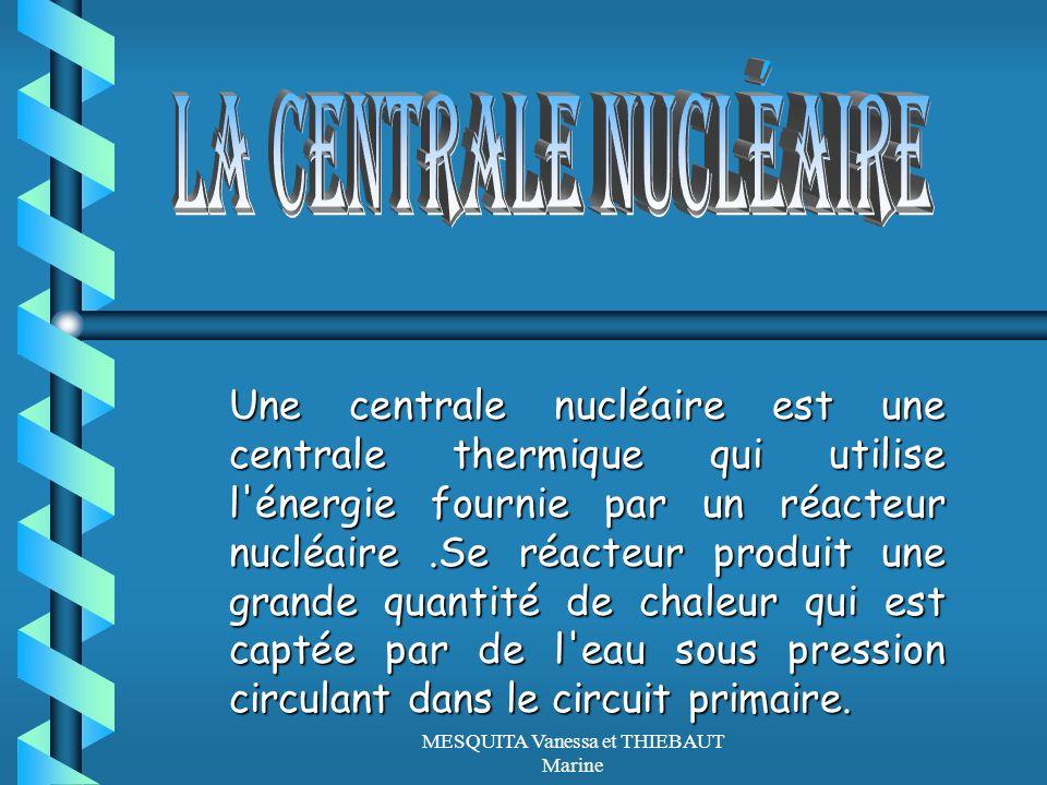 Une centrale nucléaire est une centrale thermique qui utilise l'énergie fournie par un réacteur nucléaire.Se réacteur produit une grande quantité de c