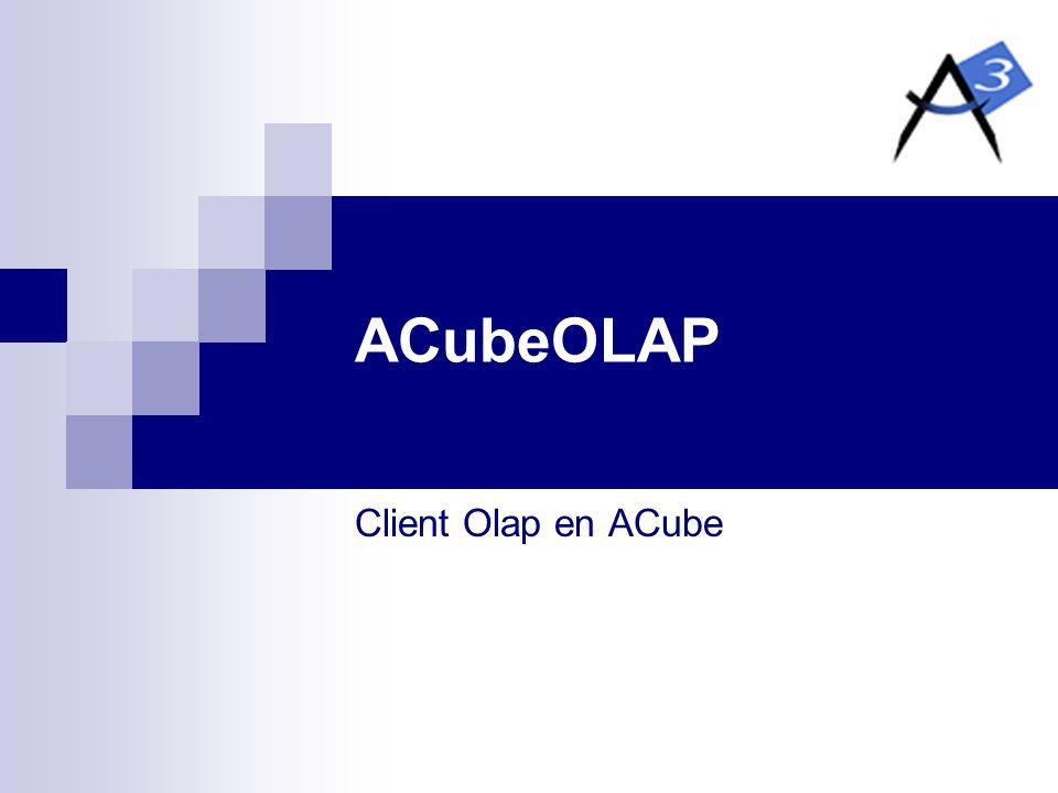 Business Intelligence en ACube OLAP et Reporting avec ACubeOLAP et GRaM