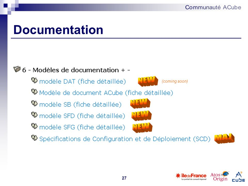 27 Documentation (coming soon)