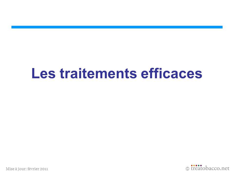 Mise à jour: février 2011 Les traitements efficaces