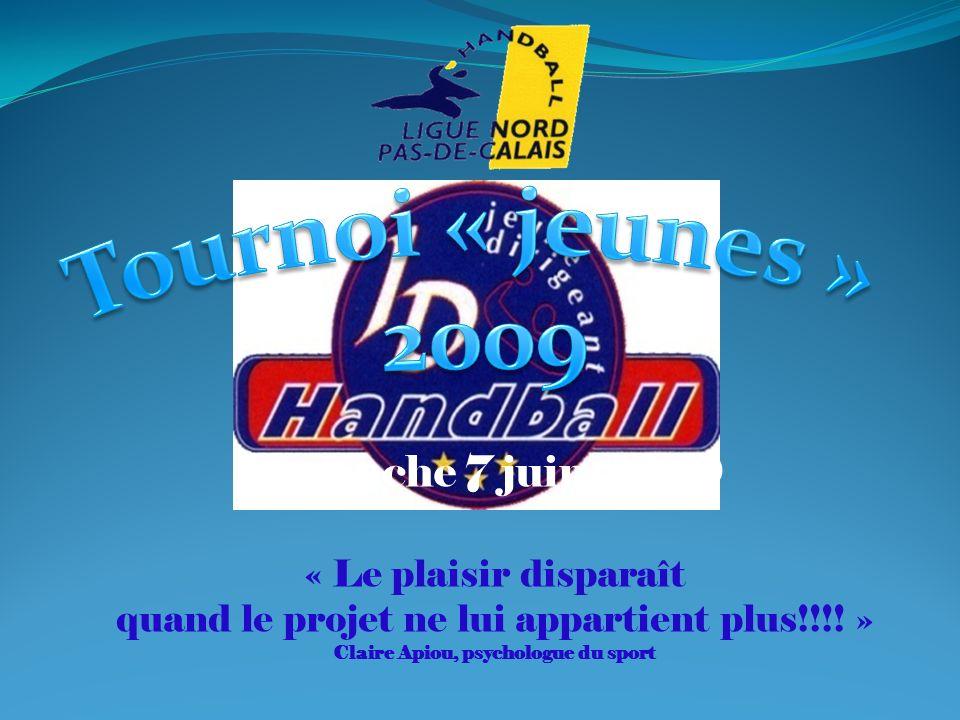 Dimanche 7 juin 2009 « Le plaisir disparaît quand le projet ne lui appartient plus!!!.