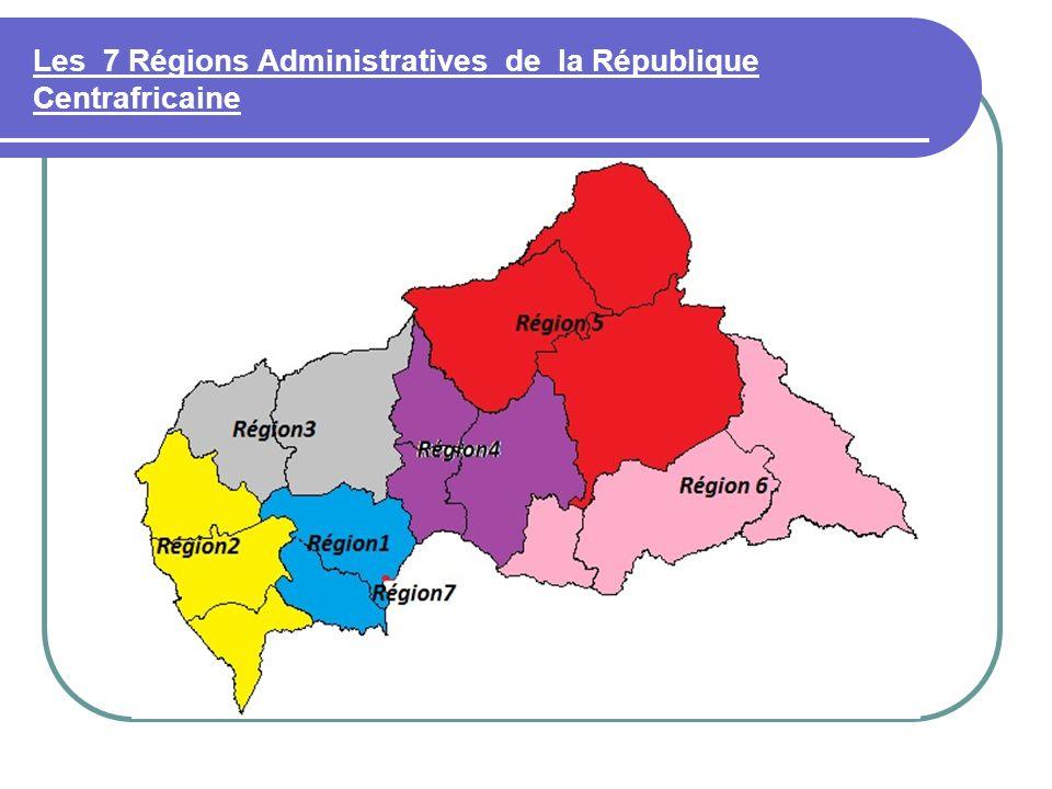 Région 5 :Bamingui-Bangoran/Vakaga ; Chef Lieu : BIRAO BINUCA et OCHA sengagent à prendre en charge la décentralisation dans cette région