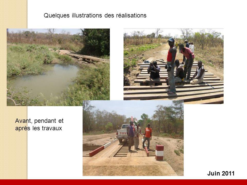 6 Juin 2011 Avant, pendant et après les travaux Quelques illustrations des réalisations