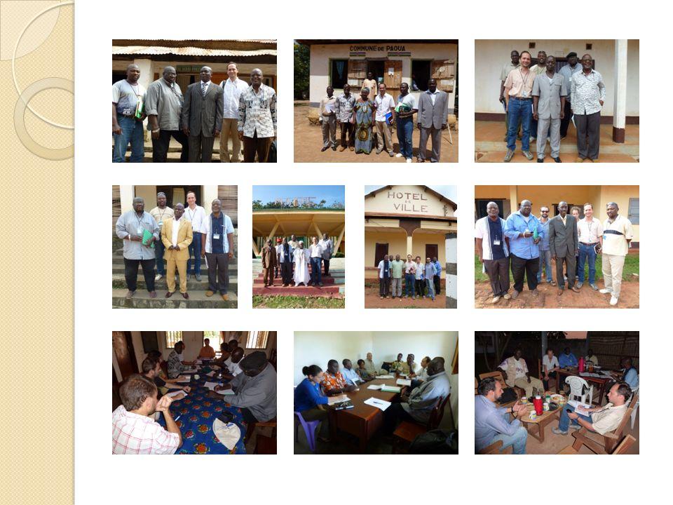 4.3 LES VISITES DE TERRAIN Les projets visités couvrent plusieurs clusters : Education, Relèvement précoce, Santé, Sécurité alimentaire, WASH et Protection.