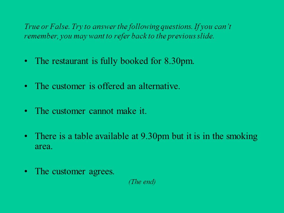 True or False.Try to answer the following questions.