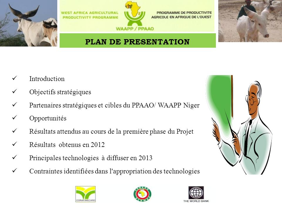 INTRODUCTION Programme de Productivité Agricole en Afrique de lOuest (PPAAO)/West Africa Agricultural Productivity Programme (WAAPP).